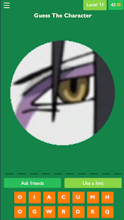 Anime Ninja Eye Quiz
