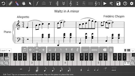Music Writer - Sheet Music Creator and Composer 1.2.201 screenshots 1