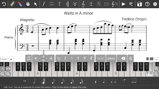 Music Writer - Sheet Music Creator and Composer 1.2.195