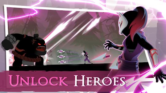 Stickman Revenge Supreme Ninja Roguelike Game v0.8.5 MOD APK 3