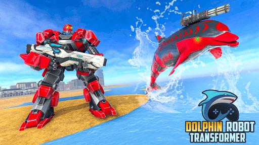 Dolphin Robot Transform: Robot War 1.4 screenshots 1