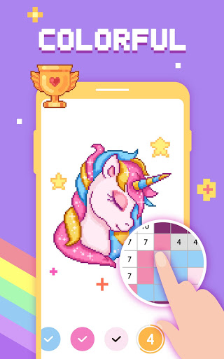 Paint by Number - Pixel Art, Free Coloring Book 3.39.2 Screenshots 15