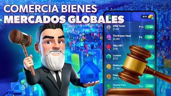 Landlord Go GPS - Schermata del gioco di affari immobiliari