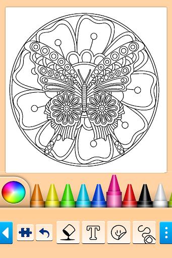 Girls games: Painting and coloring  screenshots 12