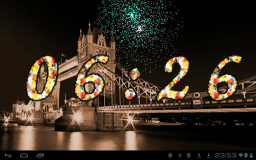 2015 Fireworks Countdown LWP For PC Windows (7, 8, 10, 10X) & Mac Computer Image Number- 8