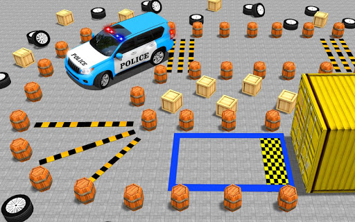 Police Jeep Spooky Stunt Parking 3D 0.4 Screenshots 1