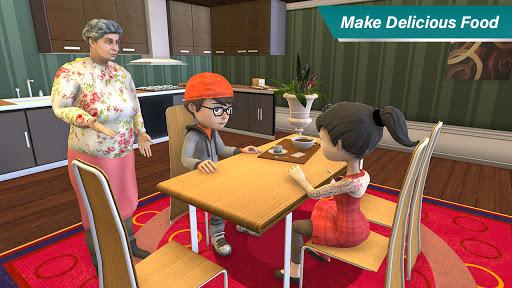 Granny Simulator 3d - Grandma Lifestyle Adventure apktreat screenshots 2