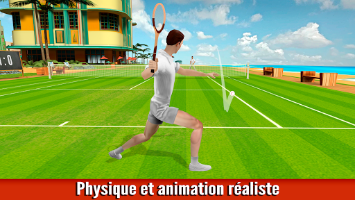 Code Triche Tennis : Jeu des Années Folles — jeu de sport APK MOD (Astuce) screenshots 1