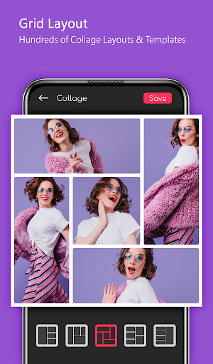 Photo Collage - Foto Grid Maker With Editor Pro 7.9 Screenshots 3