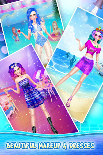 Summer Beach Party Fashion Doll Salon 2021 1.0.9 screenshots 10