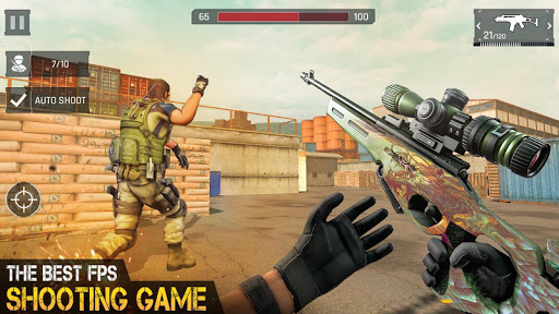 Anti Terrorism Shooter 2020 - Free Shooting Games 3.3 Screenshots 2
