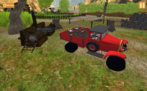 Farm Village Tractor Transport Farming Simulation Apk 5
