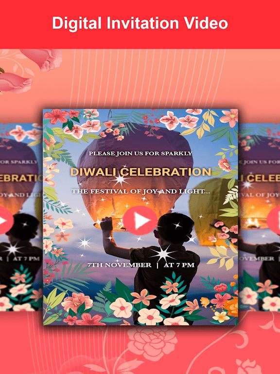 Video Invitation Maker - Create eCards  poster 2