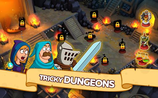 Télécharger Hustle Castle: Medieval games in the kingdom APK MOD (Astuce) screenshots 4