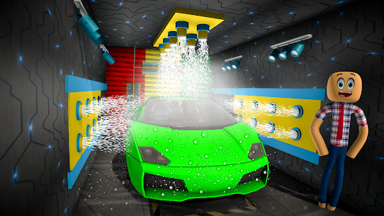 Stickman Car Wash Garage – Car Games 1.1 Android APK Mod 1