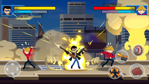 Stick Super: Hero - Strike Fight for heroes legend  screenshots 11