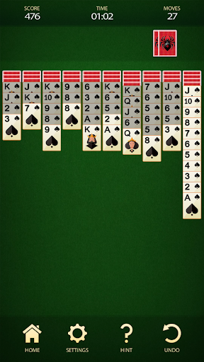 Spider Solitaire - Free Card Game 2.8 screenshots 8