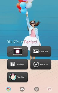 YouCam Perfect: Selfie Kamera & Foto Editor Screenshot
