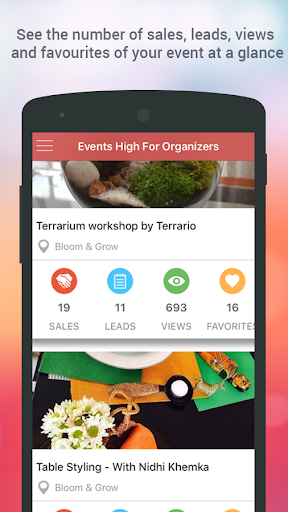 Events High For Organizers  screenshots 2