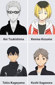 How to draw Haikyuu anime charactersのおすすめ画像4
