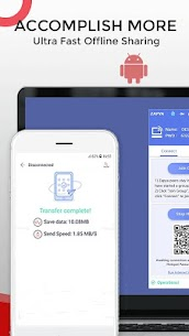 Zapya – File Transfer, Share Apps & Music Playlist 3