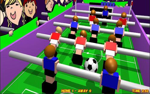 Table Football, Soccer 3D 1.20 Screenshots 2