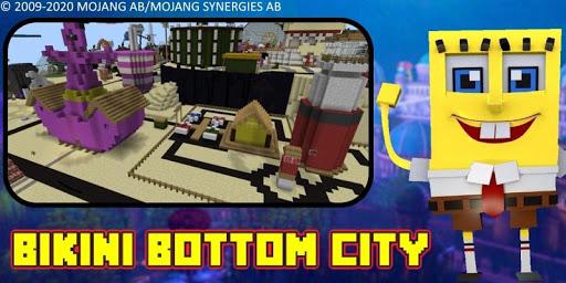 Bikini Bottom City Craft Map 7.0 screenshots 24