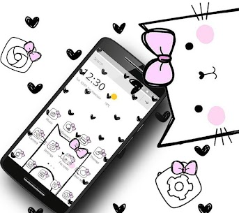 Cute Heart Spot Bow For Pc – Free Download For Windows 7, 8, 8.1, 10 And Mac 1