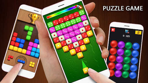 Dice Puzzle 3D-Merge Number game apktreat screenshots 2