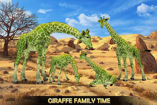Giraffe Family Life Jungle Simulator apktram screenshots 5