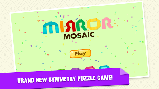 Mirror Mosaic : Symmetry Puzzles apklade screenshots 1