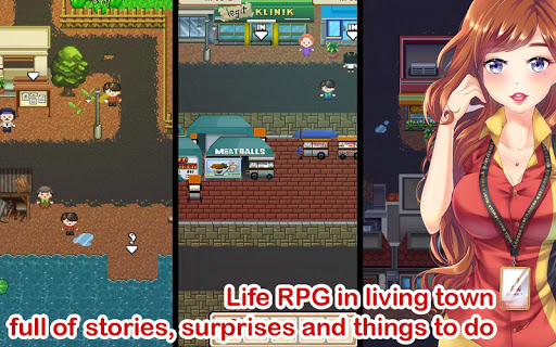 Citampi Stories: Offline Love and Life Sim RPG 1.70.1.01r screenshots 1