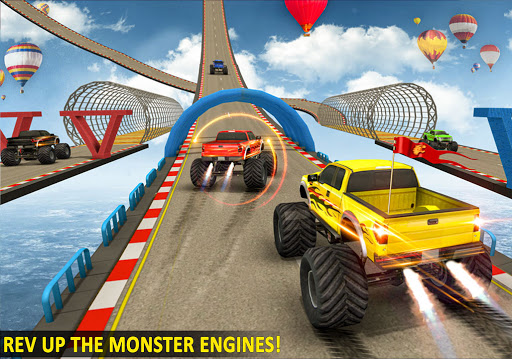 Ramp Monster Truck Stunts:New Racing Games 2.1 screenshots 15