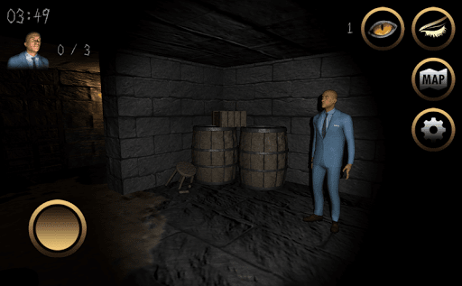 Code Triche アンレスト:3D脱出ホラー (Astuce) APK MOD screenshots 2