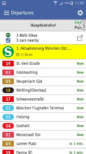 MVG Fahrinfo München  screenshots 6