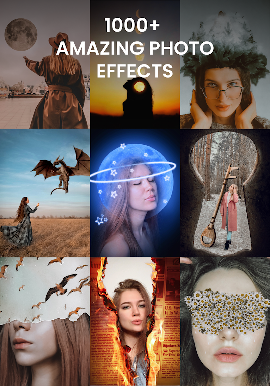 PicTrick – Creative photos in just 3 taps poster 1