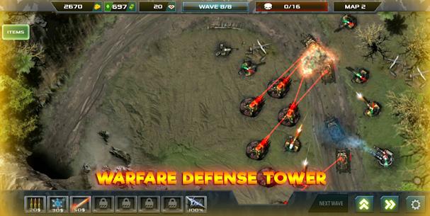 Tower Defense: Infinite War 1