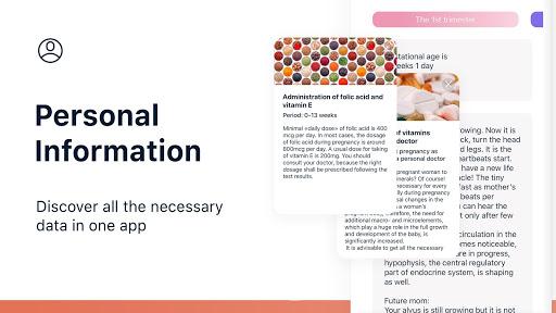 Stork u2014 Pregnancy Tracker & Calendar App 3.7.6 Screenshots 3