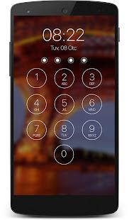 lock screen passcode