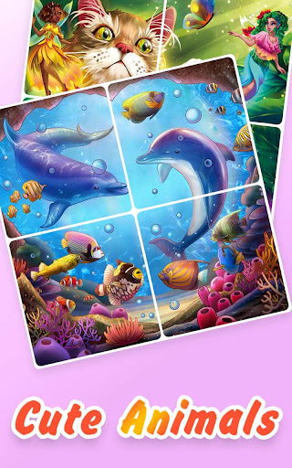 Jigsaw Coloring - Free Color By Number Puzzle Game 1.1.0 screenshots 2