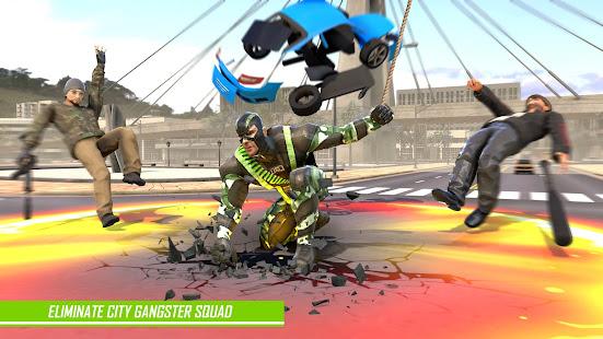 Rope Hero Man: Spider Miami City Gangster Apkfinish screenshots 2
