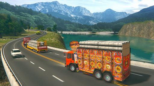 Indian Cargo Truck Driver Simulator Game -Forklift 1.20 screenshots 1