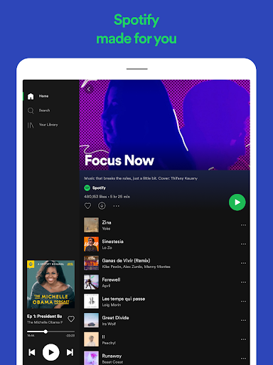 Spotify: Listen to podcasts & find music you love 8.6.2.774 screenshots 12