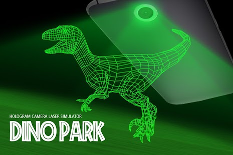 Dino Park Hologram Simulator Screenshot