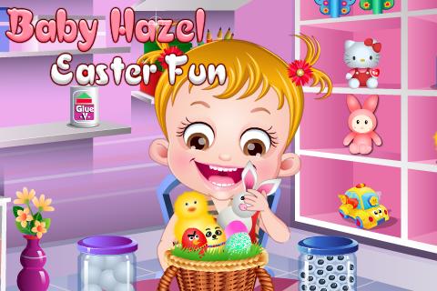 baby hazel easter fun screenshot 2