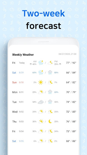 First Weather - forecast 3.0.7 Screenshots 6