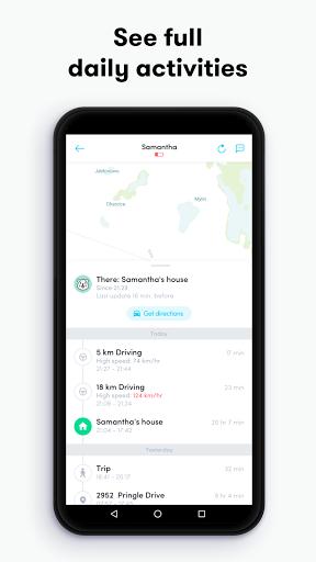Carpin:Find Family & Friends- GPS Location Tracker  Screenshots 4
