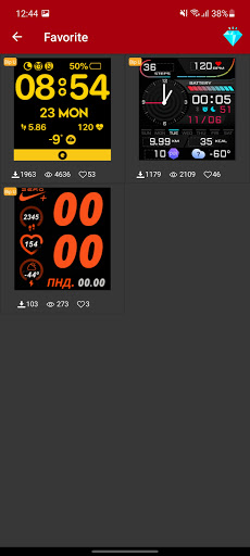 Amazfit Bip/U/U-Pro - Watch Face apktram screenshots 4
