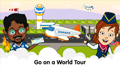 My Airport Town: Kids City Airplane Games for Free 1.6.1 Screenshots 9