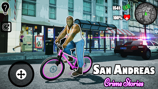 Télécharger Gratuit San Andreas Crime Stories APK MOD (Astuce) screenshots 1